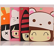 Cartoon Lovely Hat Leather Smart Case Cover Stand for Apple iPad 2/3/4(Assorted Colors)