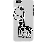 Hand-painted Giraffe Pattern Case for iPhone 6