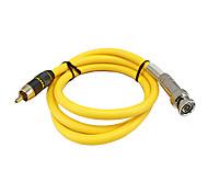losiya macho RCA a BNC de audio y video cable 1.5m 4.92ft femenina