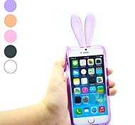 Rabbit Ear Design TPU Soft with Case for iPhone 6