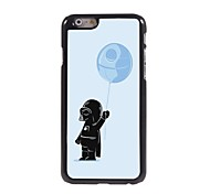 Cartoon Child with Balloon Design Aluminum Hard Case for iPhone 6