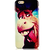Cartoon Donkey Pattern Hard Back Case for iPhone 6