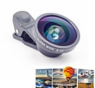 Universal Clip 0.4X Wide Angle Macro and Fish Eye Lens Set for Mobile Phones