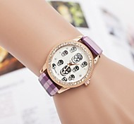 Women's Fashion Diamond Skull Quartz Wrist Watch(Assorted Colors) Cool Watches Unique Watches