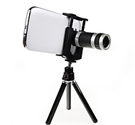 8X18 Optical Zoom Micro Lens Tripod Universal Mobile Phone Telescope