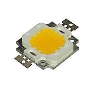 10W 2800-3200K Warm White Light LED Chip (9-12V)