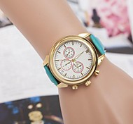 moda diamante tre occhi orologio da polso al quarzo donna (colori assortiti)