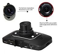 """Novatek chip de 2,7 """"de 140 graus DVR carro 1080p 30fps CMOS 5m gravador filmadora gs8000l"""