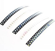 1206 smd led emettitori strips set (5 x 20pcs)