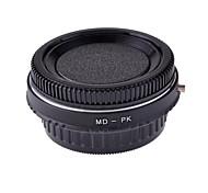 neewer lente adaptador de montaje de metal con vidrio óptico para minolta md montaje de lentes para canon EOS SLR / cámara réflex digital