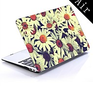 Pretty Flowers Design Full-Body Protective Plastic Case for 11-inch/13-inch New MacBook Air