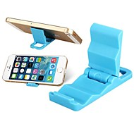 mini-support en plastique portable pour l'iphone, ipod