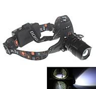 Zweihnder  Waterproof 5-Mode 1xCree XM-L2 U2 Zoom Headlamp (1900LM ,2 x18650,Black)