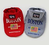 USA-Flagge Kleidung mit Kapuzen für Hunde Haustiere (verschiedene Größen, Farben)