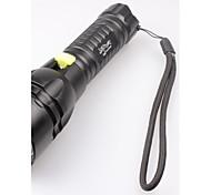 Lampes Torches LED / Lampes de poche LED 5 Mode 2400 Lumens Etanche Cree XM-L2 T6 18650Camping/Randonnée/Spéléologie / Usage quotidien /