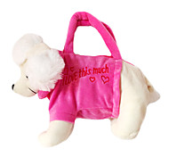 Poodog Design Plush Toys Soft Hand Bag