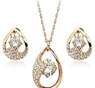 élégants ensembles de bijoux de diamant de femmes