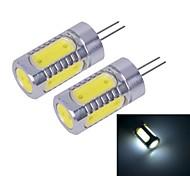 G4 W 5 COB 450~500 LM Cool White Bi-pin Lights DC 12 V