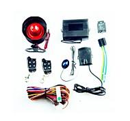 uma maneira carro sistema de alarme - preto