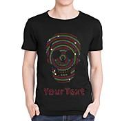 personalizzati strass t-shirt multi colore di cotone manica corta da uomo modello del cranio