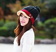 Women Cashmere/Knitwear Ivy Cap , Casual Winter