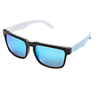 Sunglasses Men / Women / Unisex's Fashion / Polarized Rectangle Black / Light Green Sunglasses Full-Rim
