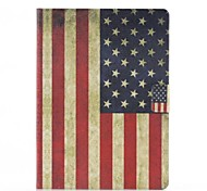 American Flag Pattern PU Leather Full Body Case with Stand for Samsung Tab4 10.1 T530