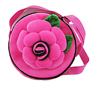 Round Handbag With Rose Pattern for Fujifilm mini7S 25 50S