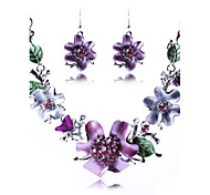 Jewelry-Necklaces / Earrings(Alloy)Party Wedding Gifts