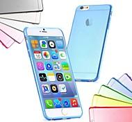 sottile custodia morbida sottile tpu ultra per il iphone 6 (colori assortiti)