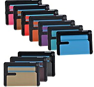 Pure Color PU Leather + Hard Plastic Full Body Case  for iPad mini 3, iPad mini 2, iPad mini(Assorted Colors)
