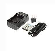 Ismartdigi-Pentax D-Li88(800mAh,3.7V)Camera Battery+EU Plug+Car Charger For Pentax  P80  X70 W90 H90 DB-L8 Sanyo DB-L80
