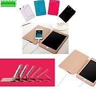 Batería externa 6000mah caso de cuero protector de la PU para el mini iPad 3, iPad Mini 2, mini ipad / mini (colores surtidos)
