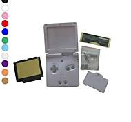 Vollgehäuseschale Fall Abdeckung Ersatz für Nintendo GBA SP Gameboy Advance SP
