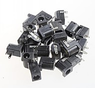 Female DC Power Jack Supply Socket,DC-005, 5.5-2.1MM Socket (20pcs)