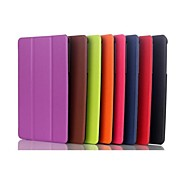 8 Inch Three Folding Pattern  PU Leather Case with Stand  for DELL Venue 8 Pro(Assorted Colors)