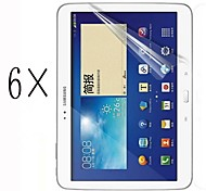 [6-Pack] High Transparency LCD Crystal Clear Screen Protector with Cleaning Cloth for Samsung Galaxy Tab S 10.5 T800