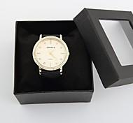 l'acier d'or de cadran de diamant de mode de montre de mode des femmes personnalisés