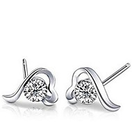 Love at First Sight 925 Sterling Silver Earrings