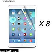 [8-pack] Protector de pantalla anti-reflejo prima de alta calidad para los Mini iPad 3