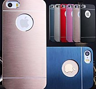 DF® Luxury Solid Color Brushed Aluminium Case for iPhone 4/4S(Assorted Colors)