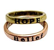 simple, rétro anneau qui souhaitent (livraison aléatoire)