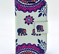 al caro del modello dell'elefante cuoio dell'unità di elaborazione con il caso e slot per schede per il trend Galaxy Lite s7390 / s7392