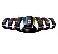OLED Bluetooth V3.0 Smart Touch Bracelet Watch with Music Player/Call Answering/Pedometer Function