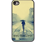 Personalized Phone Case - Only Man Design Metal Case for iPhone 4/4S