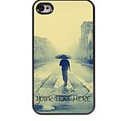 personalisierte Telefonkasten - nur der Mensch Design-Metall-Case für iPhone 4 / 4s