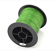 200M / 220 Yards PE Braided Line / Dyneema / Superline Fishing Line Green 40LB 0.28 mm ForSea Fishing / Fly Fishing / Bait Casting /