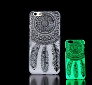 Dreamcatcher Pattern Glow in the Dark Hard Case for iPhone 6