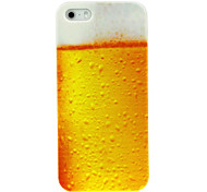 Full Cup Beer Pattern Case for iPhone 4/4S