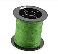 200M / 220 Yards PE Braided Line / Dyneema / Superline Fishing Line Green 60LB 0.37 mm ForSea Fishing / Fly Fishing / Bait Casting /